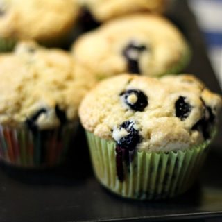Easy Homemade Blueberry Muffins
