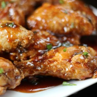 Sticky Baked Asian Wings