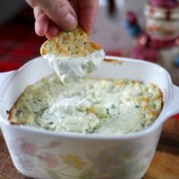 Creamy Baked Blue Cheese Dip