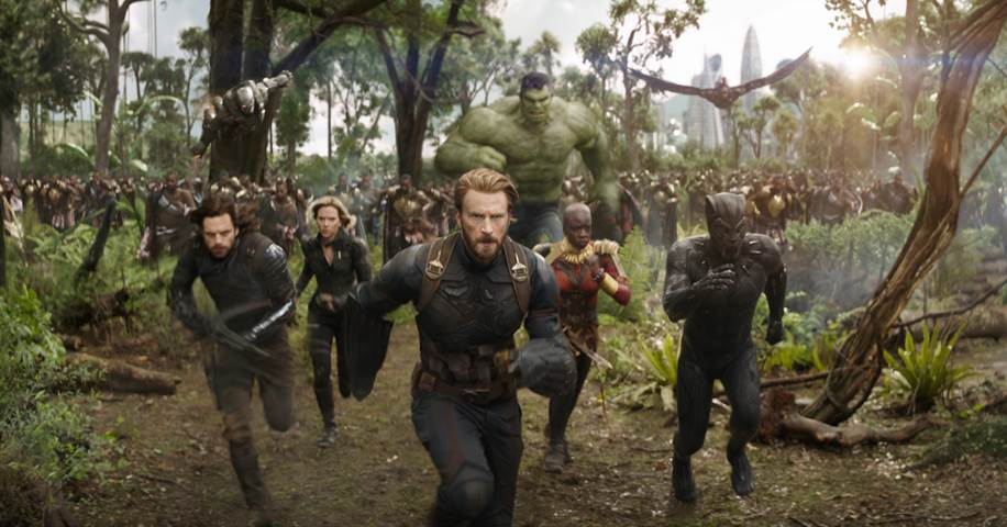 Marvel's AVENGERS: INFINITY WAR // On Blu-ray Tuesday 8/14