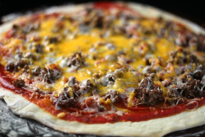 How to Make a 3 Meat Pizza from Scratch