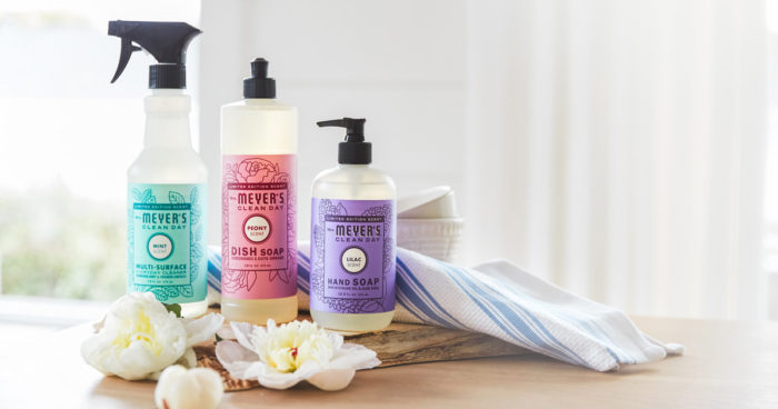 Free Mrs. Meyers products from Grove