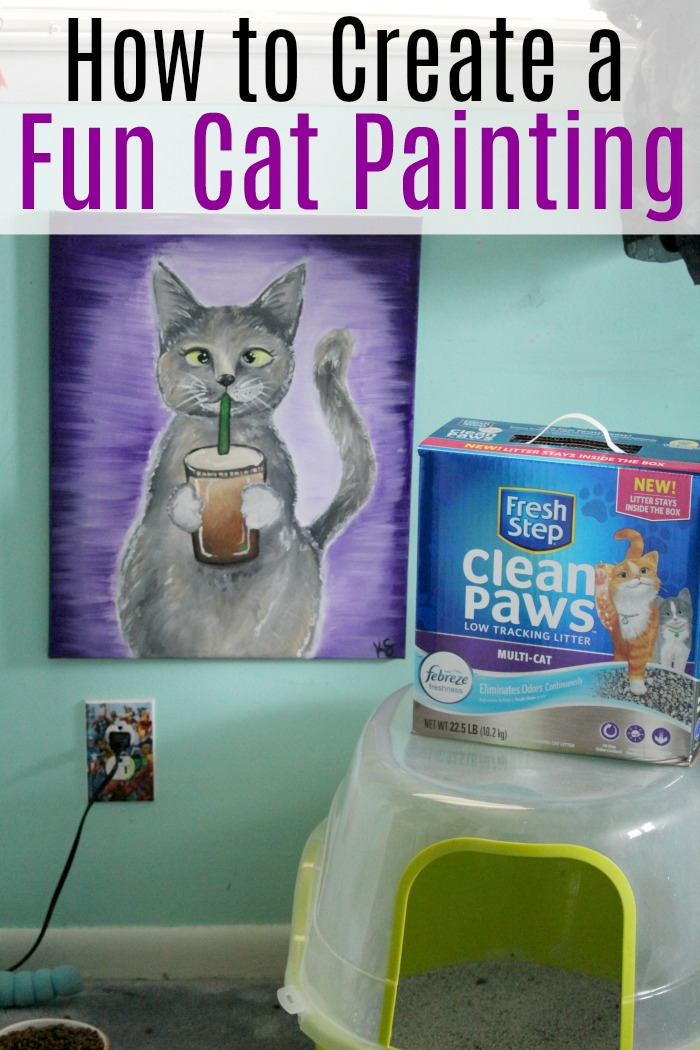 How To Make A Fun Cat Painting