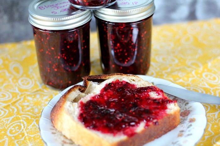 Homemade Blackberry Jam - Jen Around