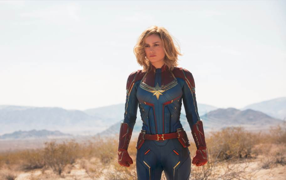 Captain Marvel Movie Poster and Trailer