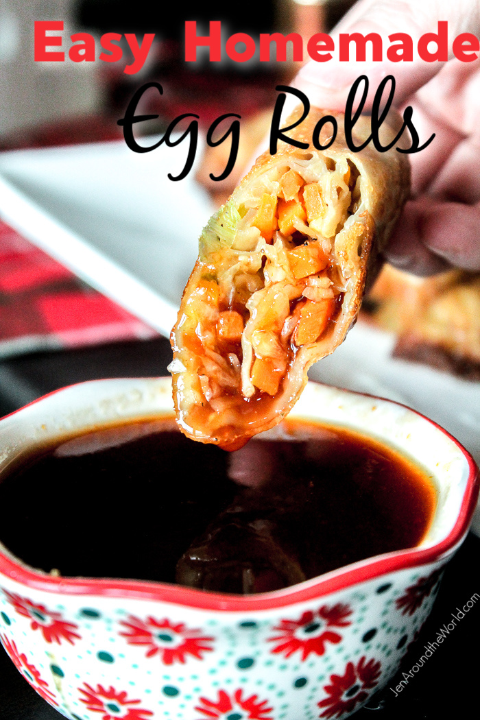 Easy Homemade Egg Rolls