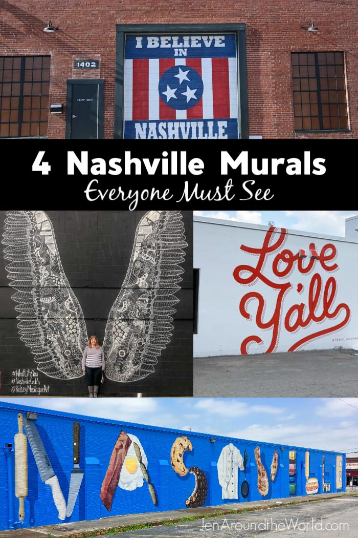 Nashville Murals Everyone Should See
