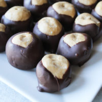 Chocolate Peanut Butter Buckeye Candy