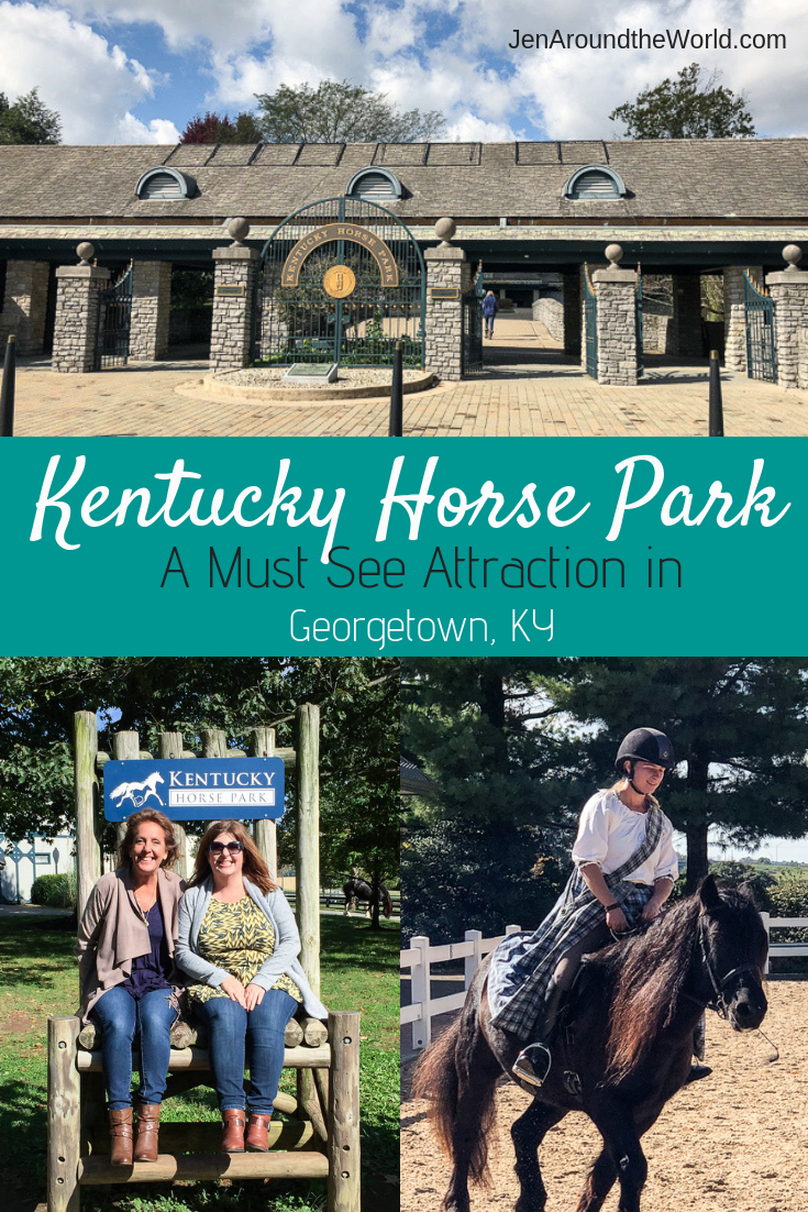 Kentucky Horse Park in Georgetown Ky is a MUST SEE Attraction