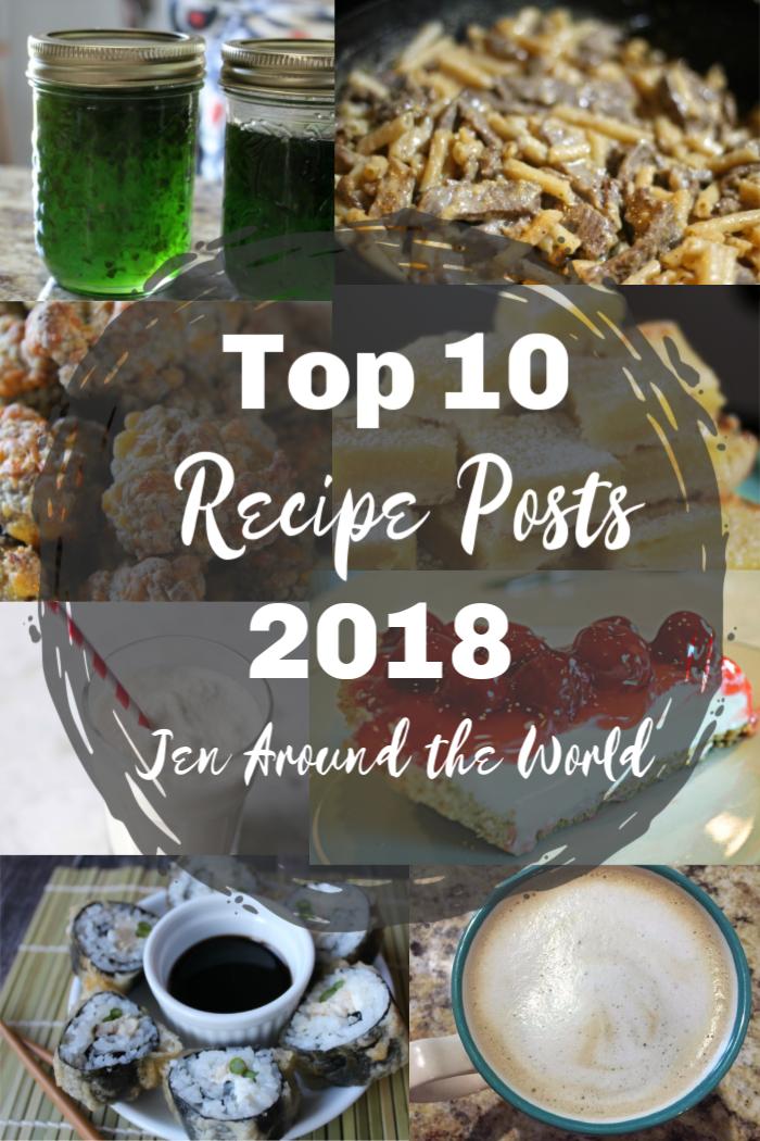 top 10 recipe posts of 2018