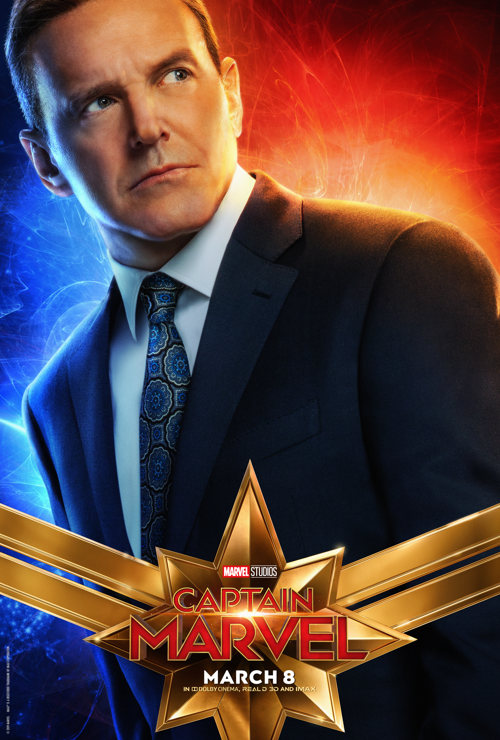 Captain Marvel - New Character Posters Available