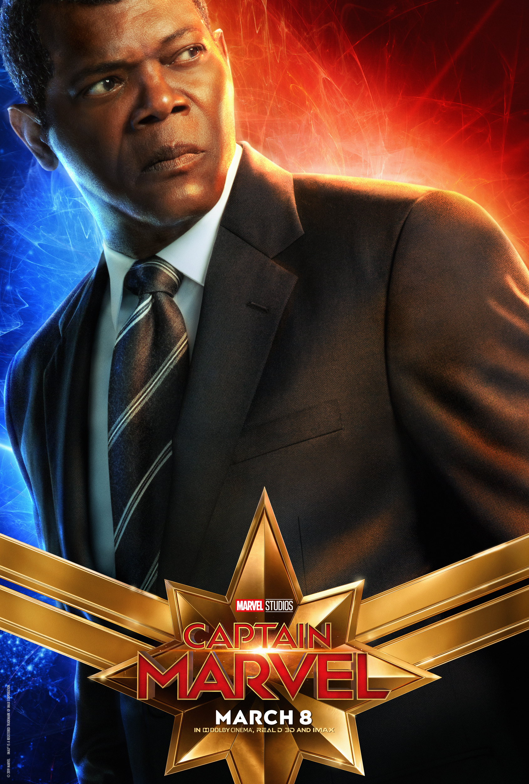 Captain Marvel New Character Posters Available Captainmarvel