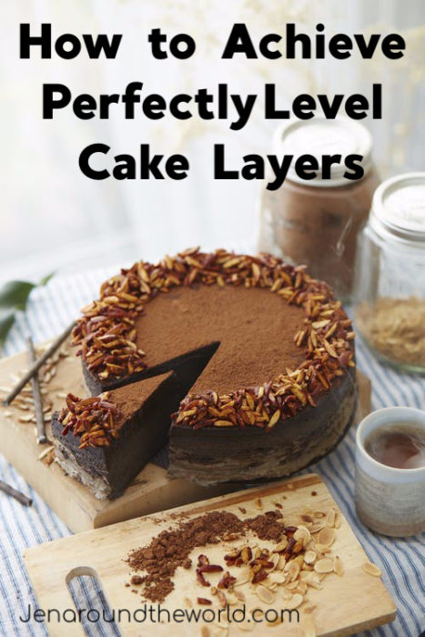 How to Get a Perfect Level Cake