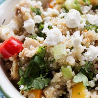 Southwest Chicken Quinoa Salad