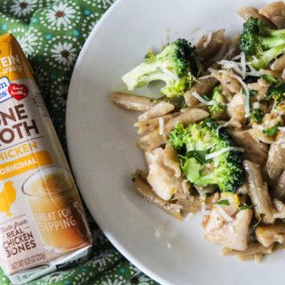 One Pan Gluten Free Chicken Broccoli Pasta