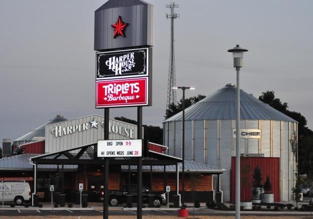 Harper House Triplets BBQ Cadiz KY