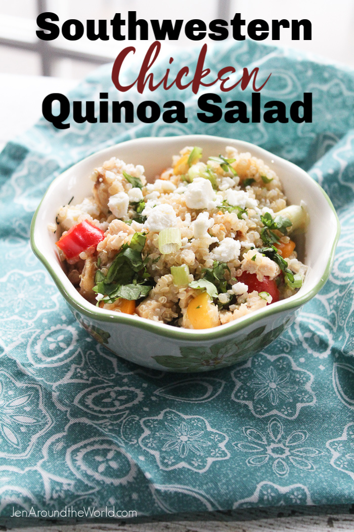 Southwest Chicken Quinoa Salad
