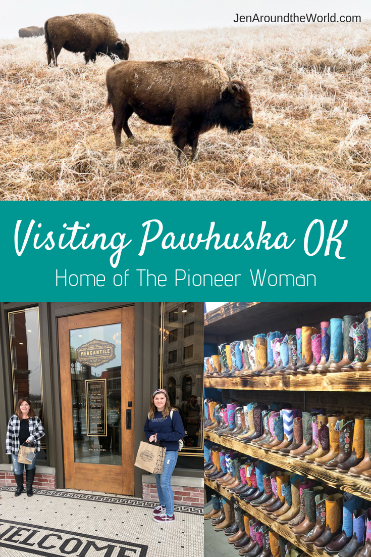 visiting Pawhuska Oklahoma