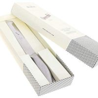 Ultra Sharp 8 Inch Serrated Bread Knife. Cuts with Precision from Crusty Loaves to Soft Bread and Pastry.