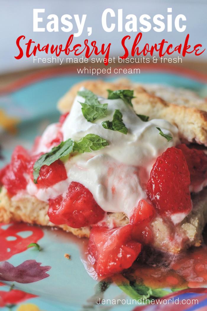Easy Strawberry Shortcakes