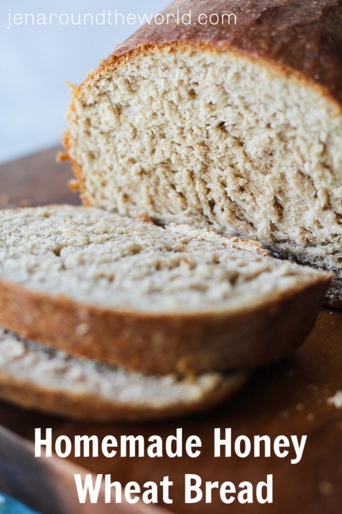 Homemade Honey Wheat Bread