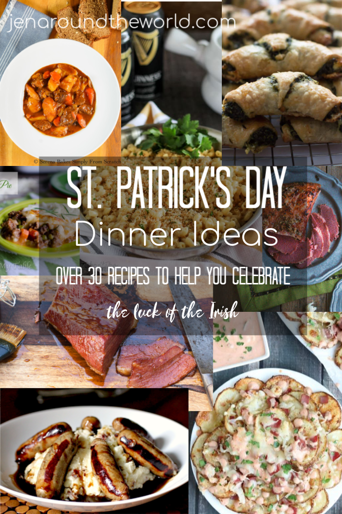 St Patricks Day Dinner Idea