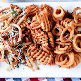 ultimate French fry bar