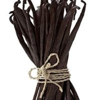 Madagascar Vanilla Beans. Whole Grade A Vanilla Pods for Vanilla Extract and Baking (25 Beans)