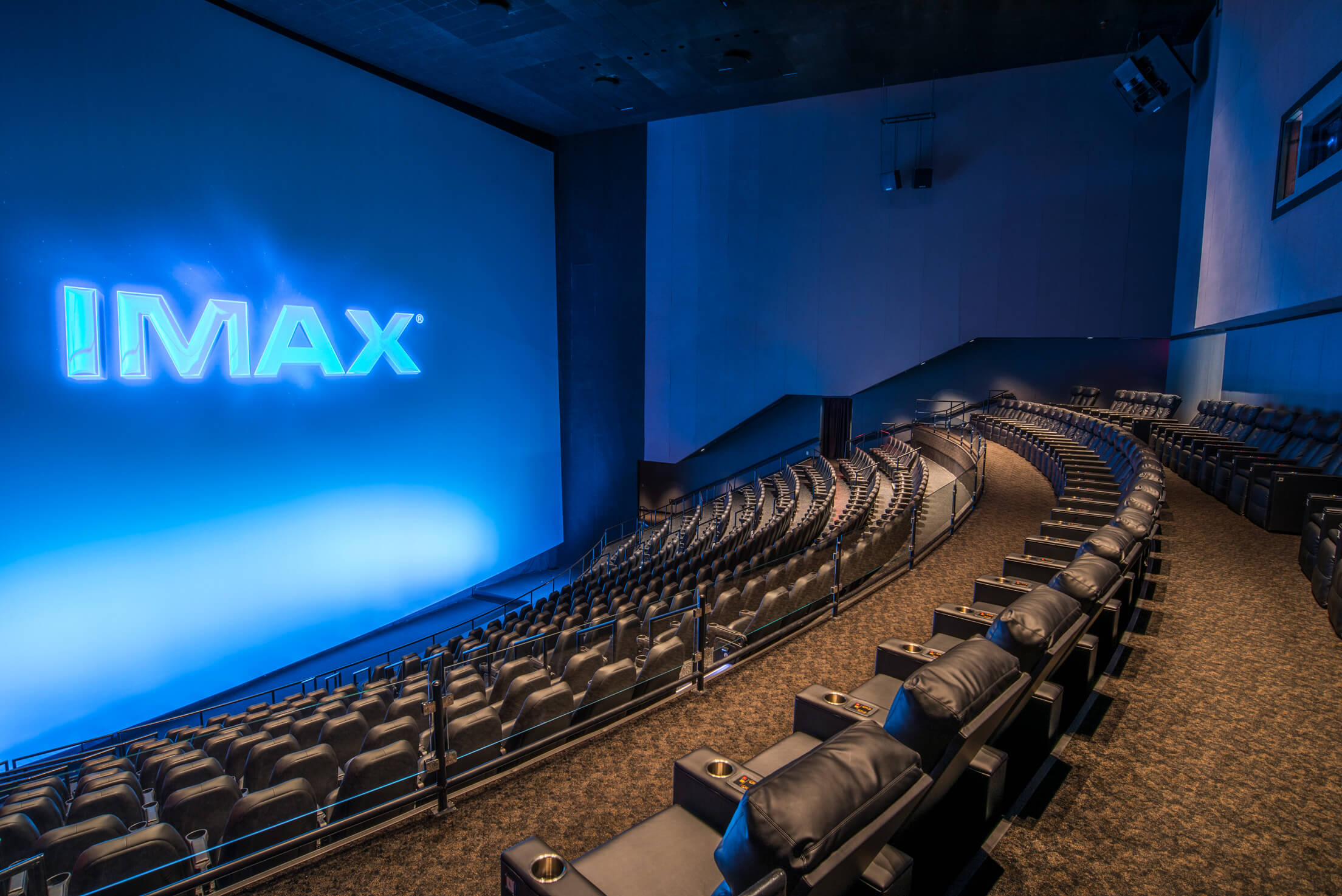 inside the Branson IMAX theater