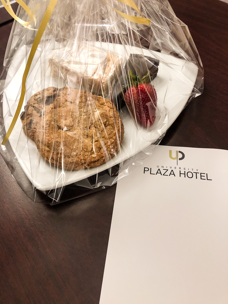cookies from the hotel