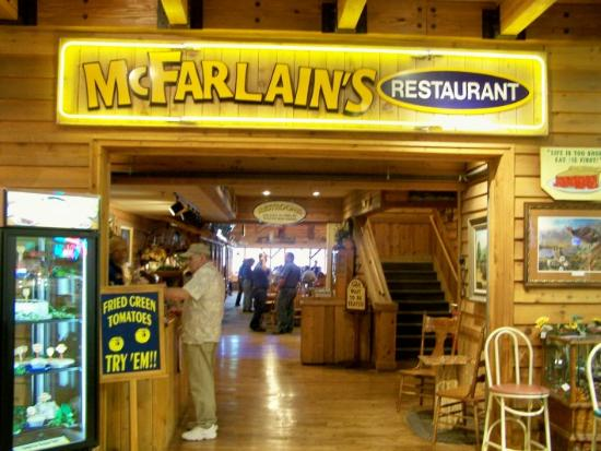 McFarlains restaurant in Branson entertainment complex