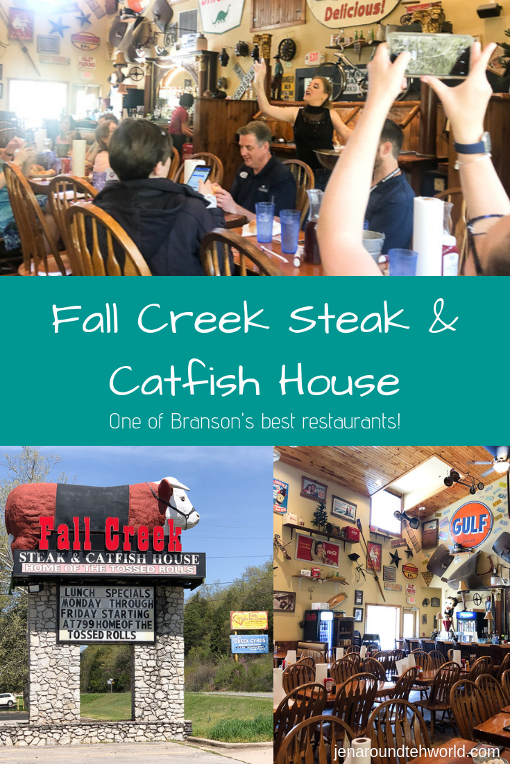 Visiting Branson soon? Be sure and make plans to have lunch at Fall Creek Steak and Catfish House - home of the tossed rolls
