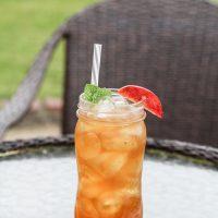 Southern Fresh Peach Iced Tea
