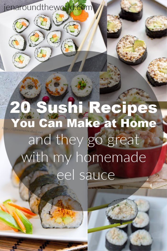 sushi recipes you can make at home