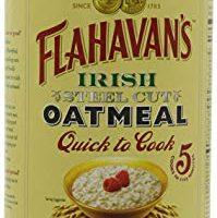 Flahavan's Irish Steel Cut Oatmeal Quick To Cook Drum, 24-ounces (Pack of 2)