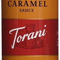 Torani Caramel Sauce, 16.5 oz Squeeze Bottle (2-Pack)