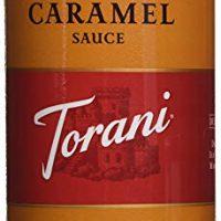 Torani Caramel Sauce, 16.5 oz Squeeze Bottle (2-Pack)