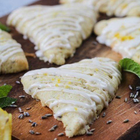 Lemon Lavender Scones