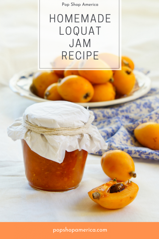 Homemade Loquat Jam Recipe