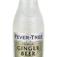 Fever-Tree Premium Ginger Beer, 6.8 Fl Oz Glass Bottle (24 Count)