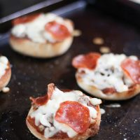 Quick and Easy English Muffin Pizzas