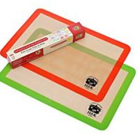 Extra Thick Silicone Non stick Baking Mat Set of 2