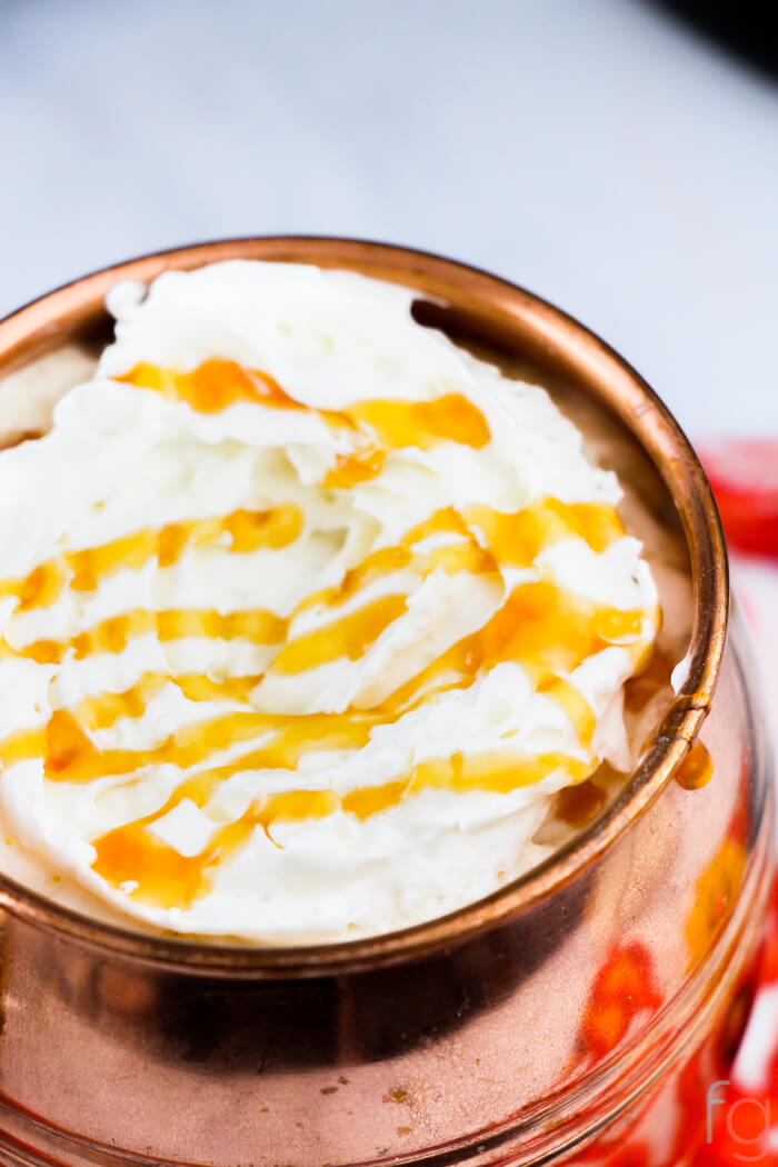 Crockpot Caramel Latte
