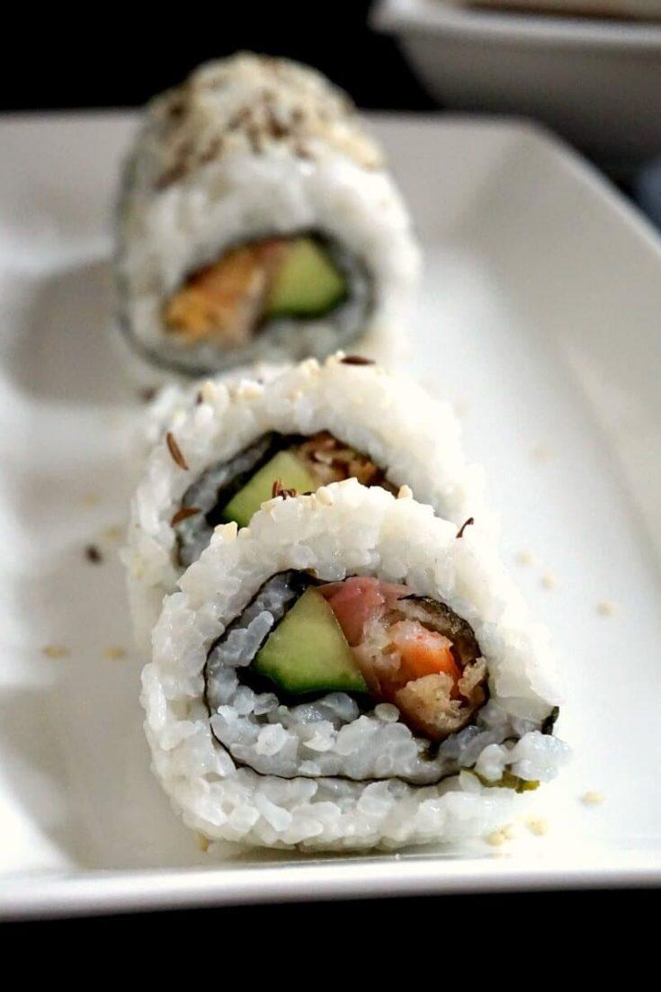 Easy Shrimp Tempura Roll Recipe (Homemade Sushi)