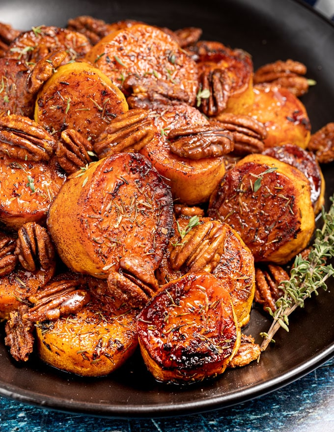 Melting Cinnamon Roasted Sweet Potatoes