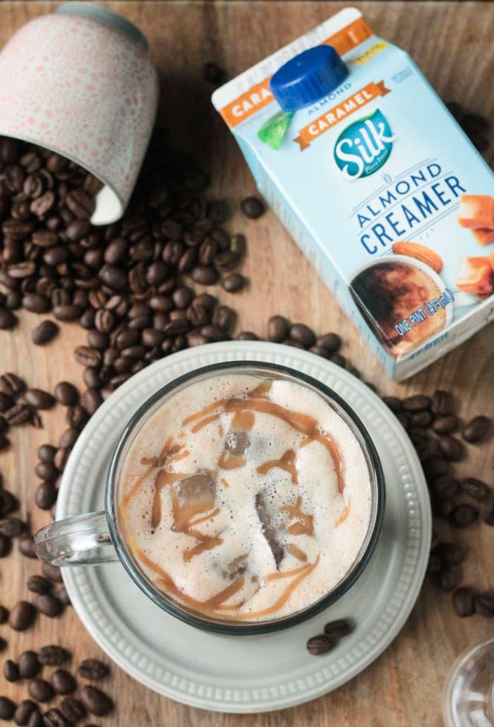 Homemade Iced Caramel Macchiato
