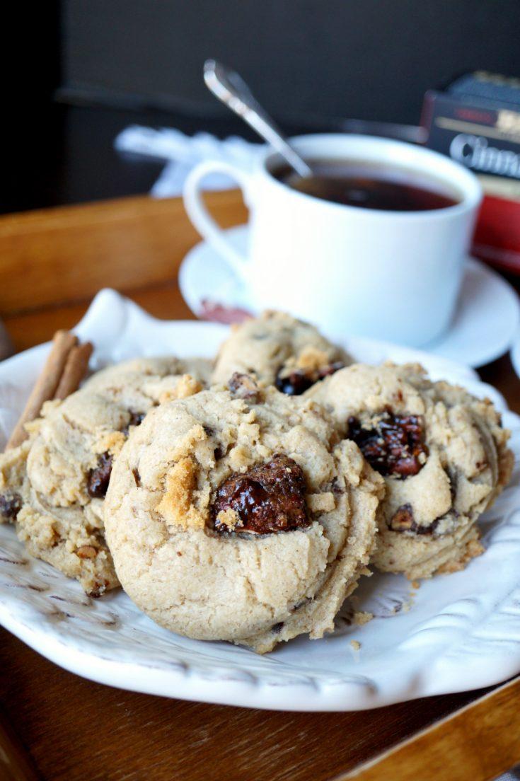 soft pecan praline cookies