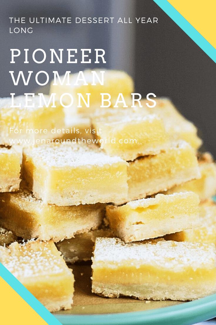 Pin image for pioneer woman lemon bars