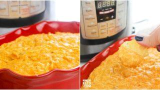 Instant Pot Chicken Enchilada Dip – Keto, Low Carb