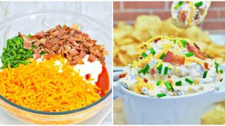5-Minute Loaded Baked Potato Dip